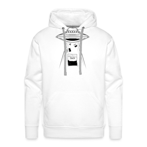 UFO thuts - Sweat-shirt à capuche Premium pour hommes