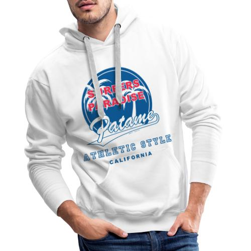 Surfers Paradise Athletic Blue - Männer Premium Hoodie