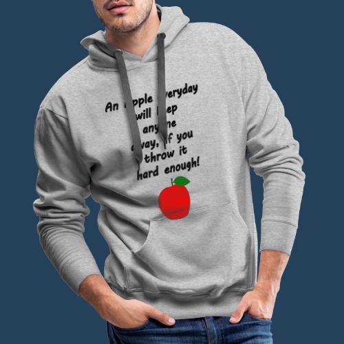 Apple Doctor - Männer Premium Hoodie