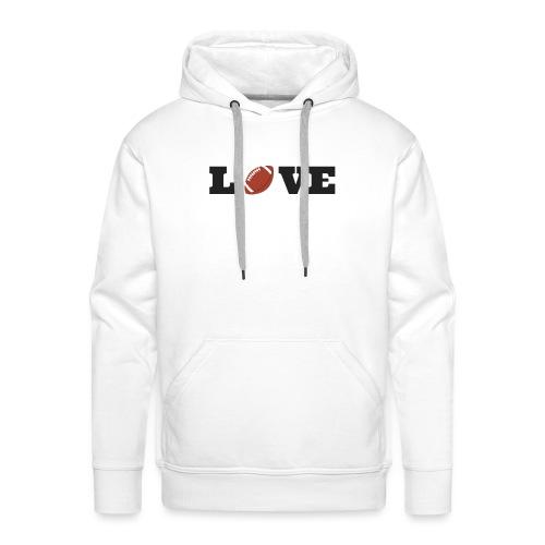 Love foot us - Sweat-shirt à capuche Premium pour hommes