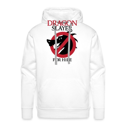 Dragon Slayer for Hire - Men's Premium Hoodie