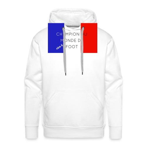 Champion du monde - Sweat-shirt à capuche Premium pour hommes