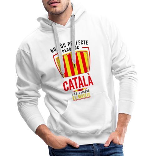 Soc CATALA Catalan Catalunya Catalona Catalonia - Sudadera con capucha premium para hombre