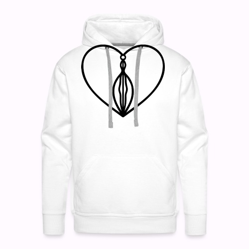 MOÏSE ART ORIGINAL BLACK - Sweat-shirt à capuche Premium pour hommes