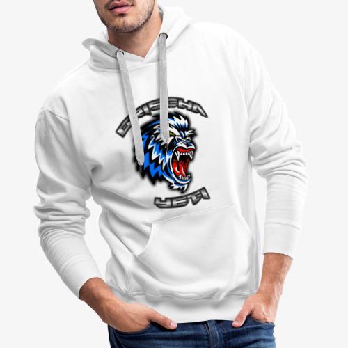 GrischaYeti Logo - Männer Premium Hoodie