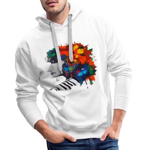 bedia - Sweat-shirt à capuche Premium pour hommes