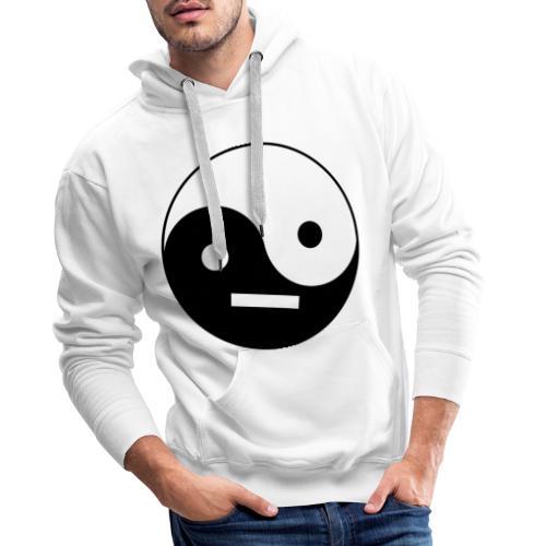 Yin Yang - Sweat-shirt à capuche Premium pour hommes