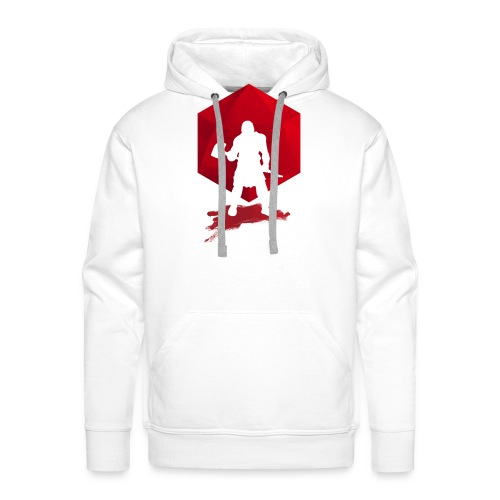 Brutal Barbarian - Dungeons and Dragons dnd d20 - Men's Premium Hoodie