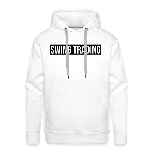 SWING TRADING - Sweat-shirt à capuche Premium pour hommes