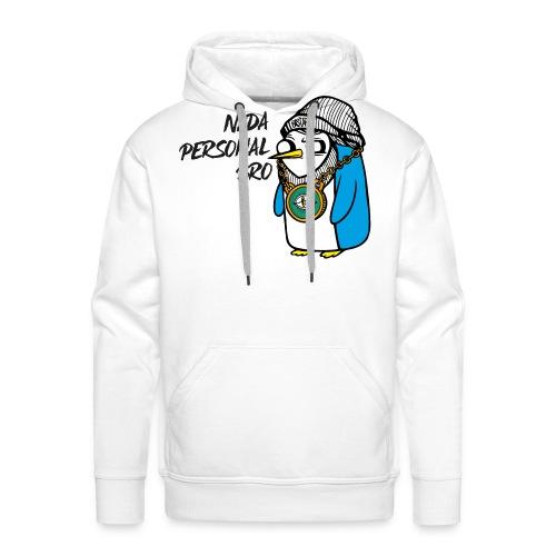 NADA PERSONAL - Sudadera con capucha premium para hombre