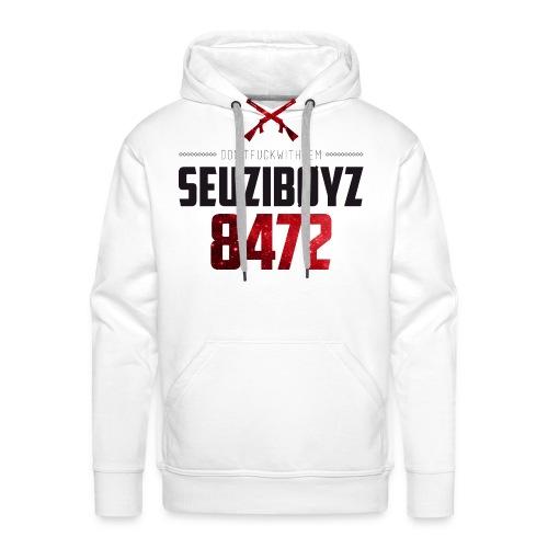 Seuziboyz Schwarz Rot - Männer Premium Hoodie