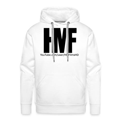 HMFilmsHD Schwarz - Männer Premium Hoodie