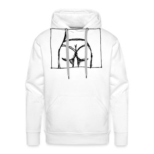 Bubble - Mannen Premium hoodie