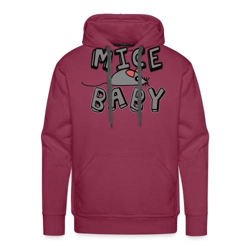 mice mice baby - ice ice baby - Männer Premium Hoodie