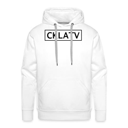 Black CKLAtv - Men's Premium Hoodie