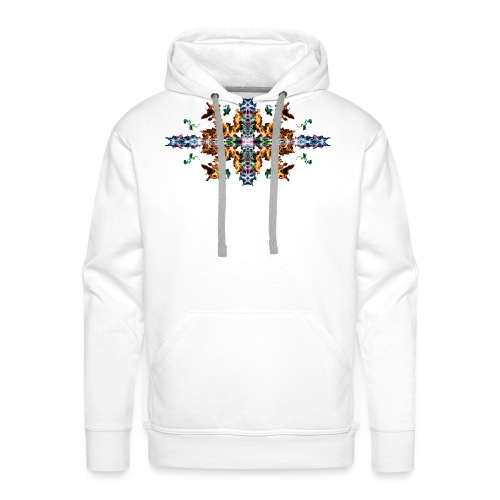 Colourful Fire - Men's Premium Hoodie