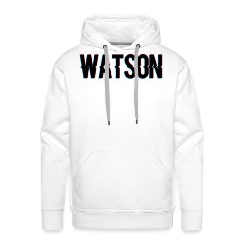 WATSON // SORT - Herre Premium hættetrøje
