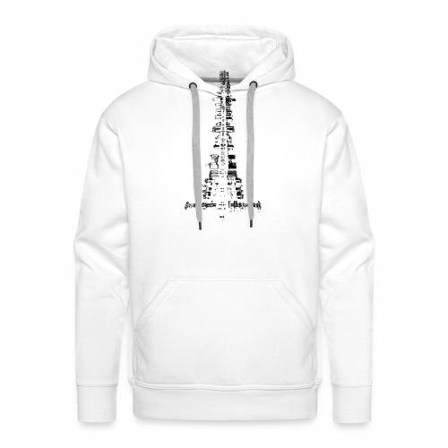 La Ville - Sweat-shirt à capuche Premium pour hommes