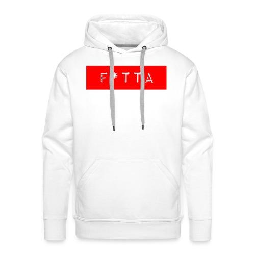 F TTA Logo - Premiumluvtröja herr