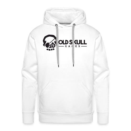 Logo OSG Rectangle black 1 - Sweat-shirt à capuche Premium pour hommes