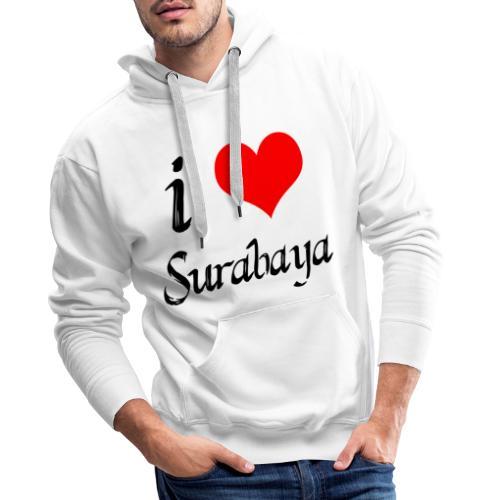 surabaya png - Mannen Premium hoodie
