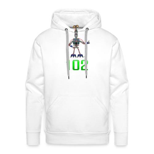 102 - Sweat-shirt à capuche Premium pour hommes