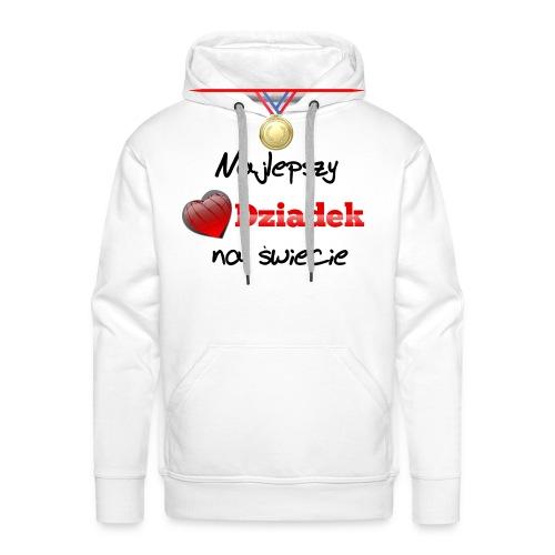 nadruk_rodzinne_01 - Bluza męska Premium z kapturem