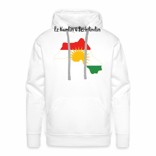 Ez kurdim u serbilindim - Premiumluvtröja herr