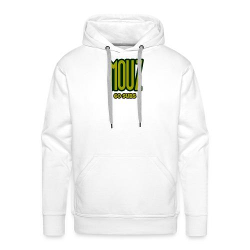 Mouz Limited Time 60 subs gold shirt - Men's Premium Hoodie