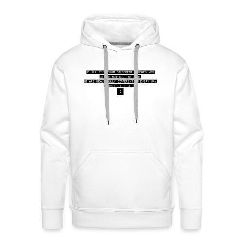 LOVE IT - Sweat-shirt à capuche Premium pour hommes
