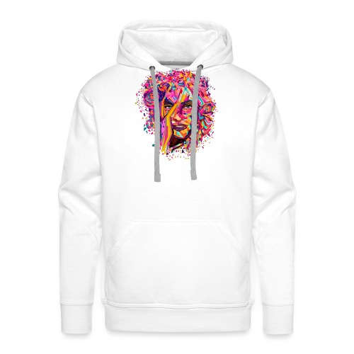 Arte - Sudadera con capucha premium para hombre