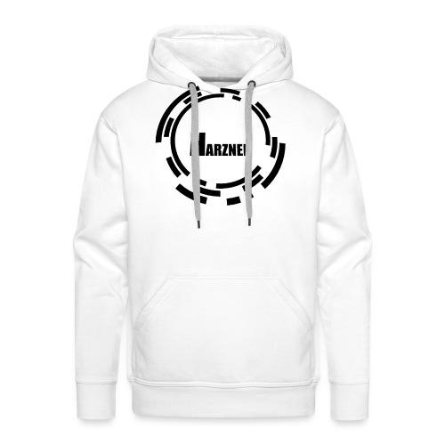 HarznerLogoBW3000x3000 - Männer Premium Hoodie