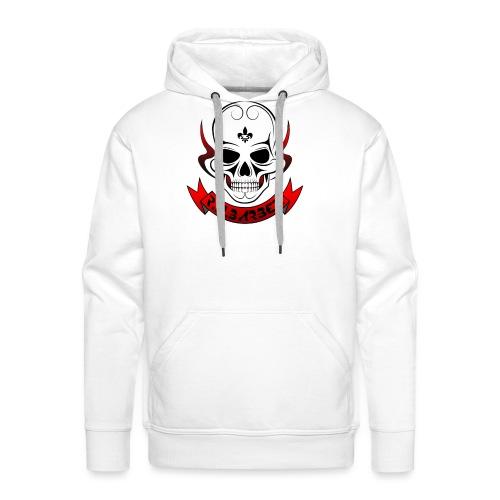 Rnbarber skull - Sweat-shirt à capuche Premium pour hommes