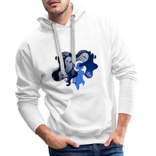 ETR VR fantômes - Sweat-shirt à capuche Premium pour hommes