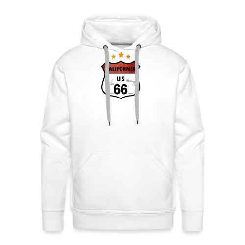 Carlifornia U.S. 66 - Männer Premium Hoodie