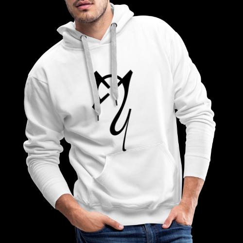 Overscoped Logo - Men's Premium Hoodie