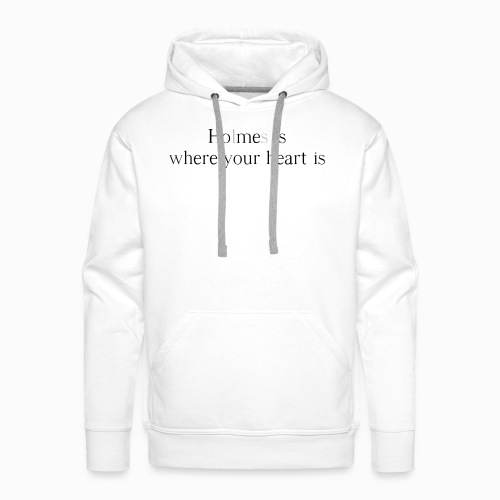 Holmes is where your heart is - Männer Premium Hoodie