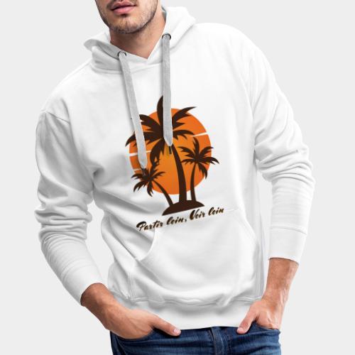 Partir Loin, Voir loin - Sweat-shirt à capuche Premium pour hommes