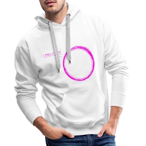 I ended up in pop (pink) - Männer Premium Hoodie