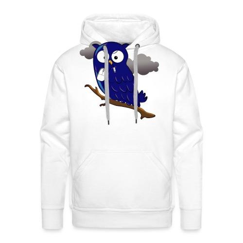 Hiboux Mouse 3 - Sweat-shirt à capuche Premium pour hommes