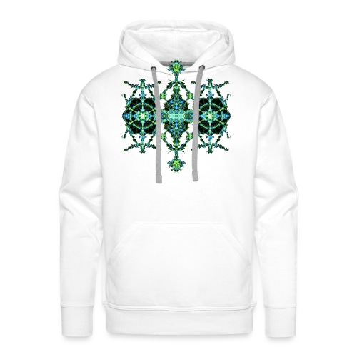 Green Lightning - Men's Premium Hoodie