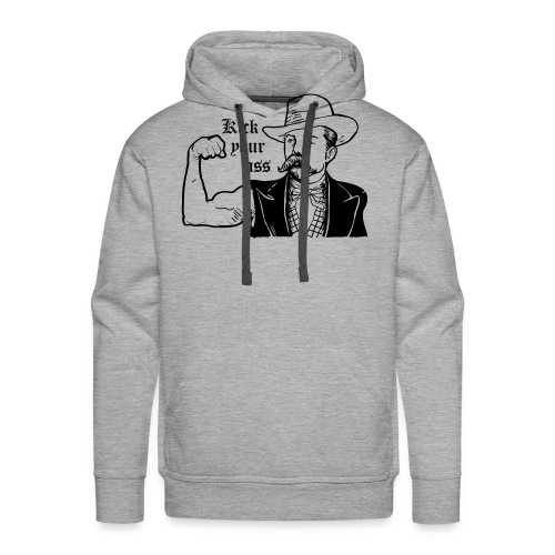 Kick Your Ass - Mannen Premium hoodie