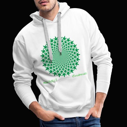 Geometric Cannabis!! Truth T-Shirts!! #Geometry - Men's Premium Hoodie