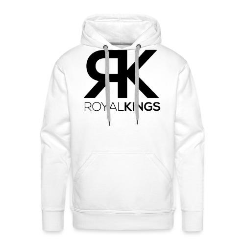 Royalkings Zwart Transpar - Mannen Premium hoodie