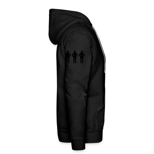 3schwarz - Männer Premium Hoodie