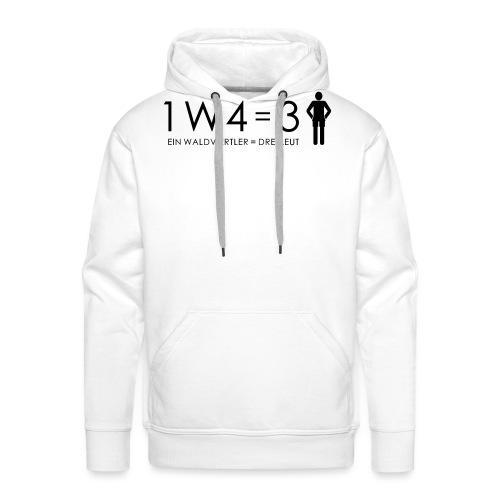 1W4 3L - Männer Premium Hoodie