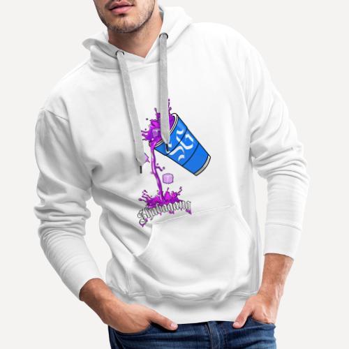 Purple Cup - Sweat-shirt à capuche Premium pour hommes