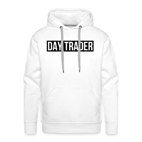 DAY TRADER - Sweat-shirt à capuche Premium pour hommes