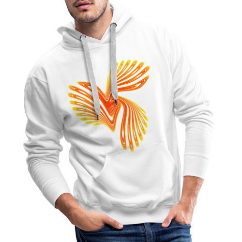 Vogel Paradiesvogel Kakadu Ikarus Chaos 4314aut - Männer Premium Hoodie