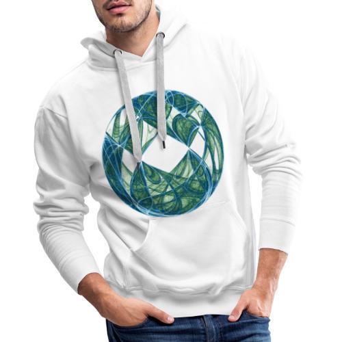 Harmonie im Ozean der Elemente 446oce - Männer Premium Hoodie